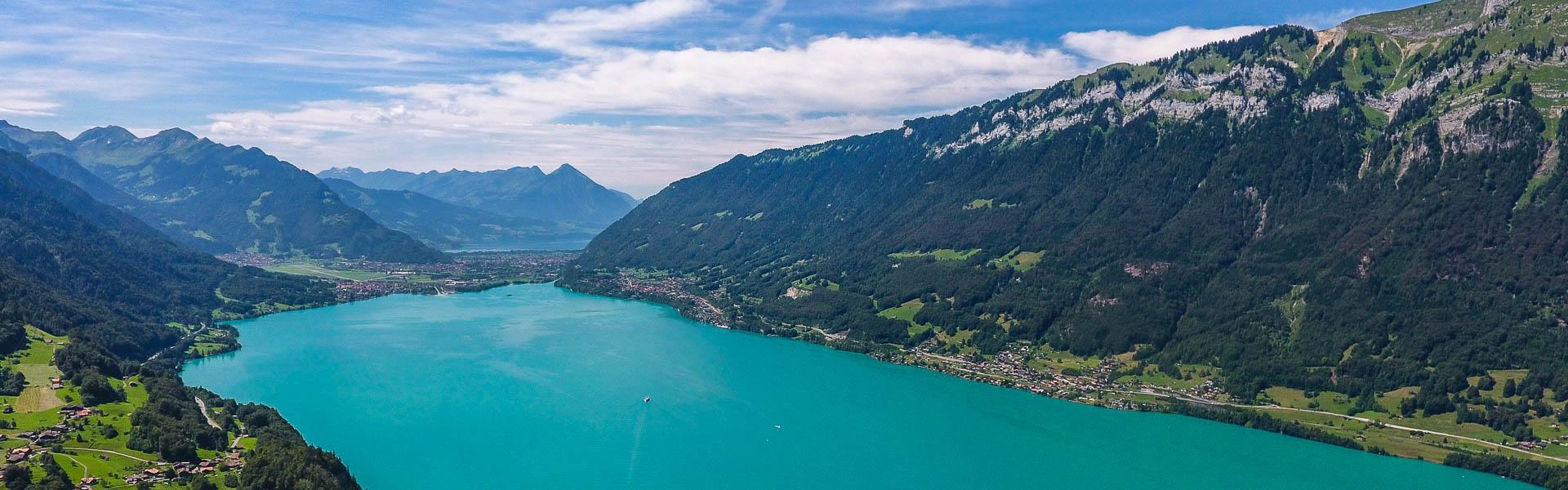 Examen du permis bateau au lac de Brienz