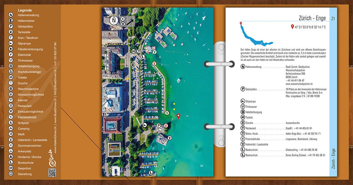 Les guides des ports éprouvés pour les lacs suisses
